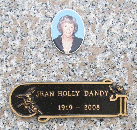 DANDY, JEAN HOLLY - Black Hawk County, Iowa | JEAN HOLLY DANDY