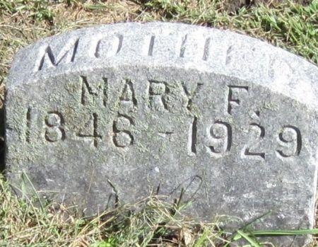 DANE, MARY F. - Black Hawk County, Iowa   MARY F. DANE