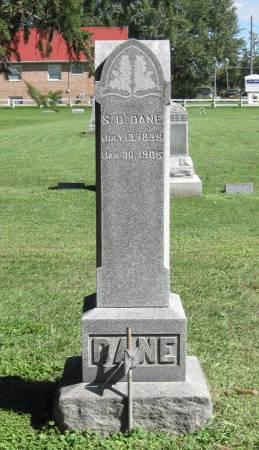 DANE, S. D. - Black Hawk County, Iowa   S. D. DANE