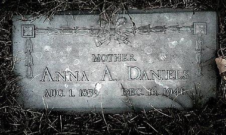 DANIELS, ANNA A. - Black Hawk County, Iowa | ANNA A. DANIELS