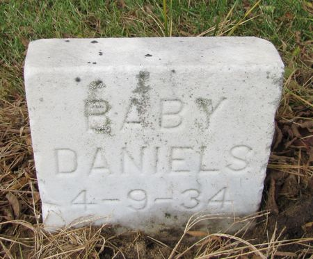 DANIELS, BABY - Black Hawk County, Iowa | BABY DANIELS