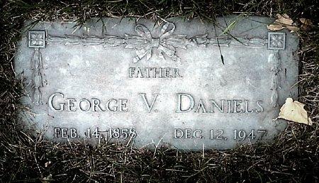 DANIELS, GEORGE V. - Black Hawk County, Iowa | GEORGE V. DANIELS