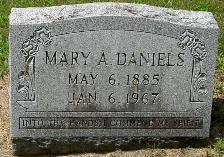 DANIELS, MARY A. - Black Hawk County, Iowa | MARY A. DANIELS