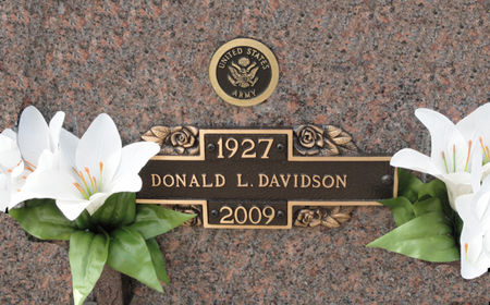 DAVIDSON, DONALD L. - Black Hawk County, Iowa | DONALD L. DAVIDSON