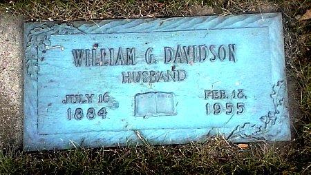 DAVIDSON, WILLIAM G. - Black Hawk County, Iowa | WILLIAM G. DAVIDSON