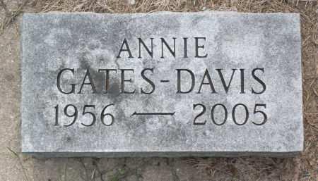 GATES DAVIS, ANNIE - Black Hawk County, Iowa | ANNIE GATES DAVIS