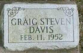 DAVIS, CRAIG STEVEN - Black Hawk County, Iowa   CRAIG STEVEN DAVIS
