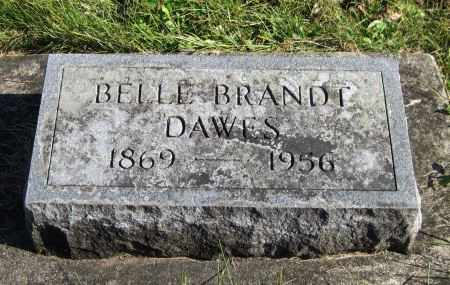 BRANDT DAWES, BELLE - Black Hawk County, Iowa | BELLE BRANDT DAWES