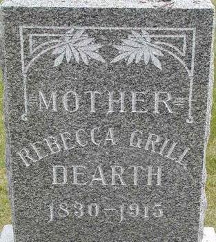 DEARTH, REBECCA - Black Hawk County, Iowa   REBECCA DEARTH