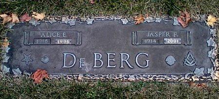 DEBERG, JASPER F. - Black Hawk County, Iowa | JASPER F. DEBERG