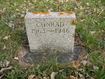 DE BUS, CONRAD - Black Hawk County, Iowa   CONRAD DE BUS