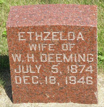 DEEMING, ETHZELDA - Black Hawk County, Iowa | ETHZELDA DEEMING