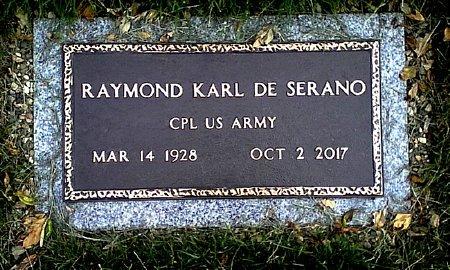 DE SERANO, RAYMOND KARL - Black Hawk County, Iowa | RAYMOND KARL DE SERANO