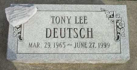 DEUTSCH, TONY LEE - Black Hawk County, Iowa | TONY LEE DEUTSCH