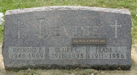 OSWALD DEVINE, CLAIRE COLLETTE - Black Hawk County, Iowa | CLAIRE COLLETTE OSWALD DEVINE