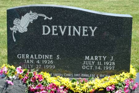 DEVINEY, GERALDINE S. - Black Hawk County, Iowa | GERALDINE S. DEVINEY