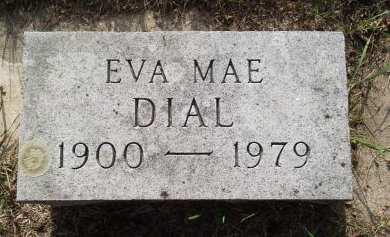 DIAL, EVA MAE - Black Hawk County, Iowa | EVA MAE DIAL