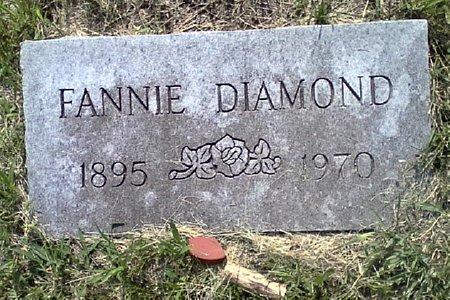 DIAMOND, FANNIE - Black Hawk County, Iowa   FANNIE DIAMOND