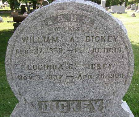 DICKEY, WILLIAM A. - Black Hawk County, Iowa | WILLIAM A. DICKEY