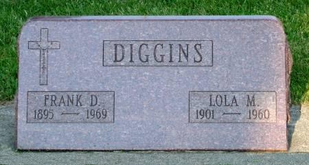 DIGGINS, FRANK D. - Black Hawk County, Iowa | FRANK D. DIGGINS