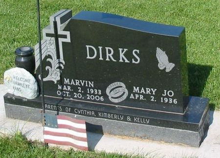 DIRKS, MARVIN - Black Hawk County, Iowa | MARVIN DIRKS