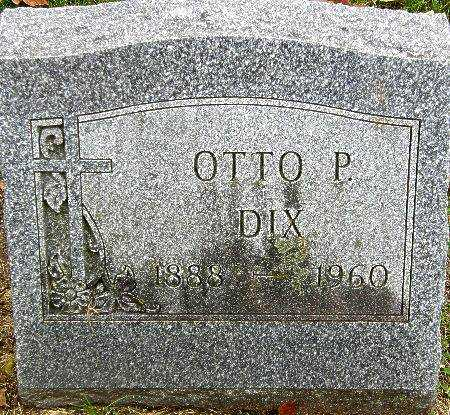 DIX, OTTO P. - Black Hawk County, Iowa | OTTO P. DIX