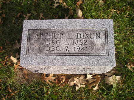 DIXON, ARTHUR L - Black Hawk County, Iowa | ARTHUR L DIXON