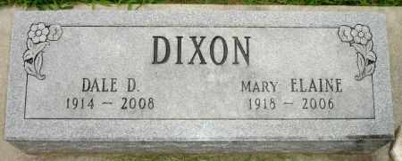 DIXON, DALE D. - Black Hawk County, Iowa | DALE D. DIXON