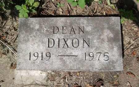 DIXON, DEAN - Black Hawk County, Iowa | DEAN DIXON