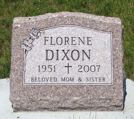 DIXON, FLORENE - Black Hawk County, Iowa   FLORENE DIXON