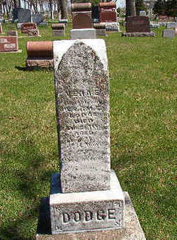 DODGE, VERA E. - Black Hawk County, Iowa   VERA E. DODGE