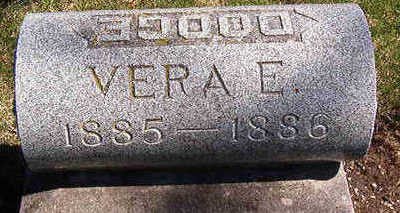 DODGE, VERA E. - Black Hawk County, Iowa | VERA E. DODGE