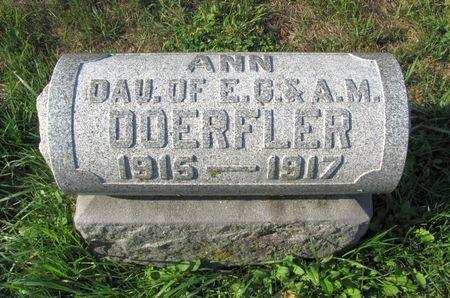 DOERFLER, ANN - Black Hawk County, Iowa | ANN DOERFLER