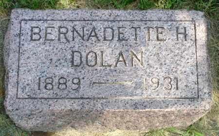 DOLAN, BERNADETTE H. - Black Hawk County, Iowa | BERNADETTE H. DOLAN