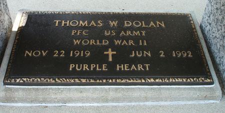 DOLAN, THOMAS W. - Black Hawk County, Iowa   THOMAS W. DOLAN