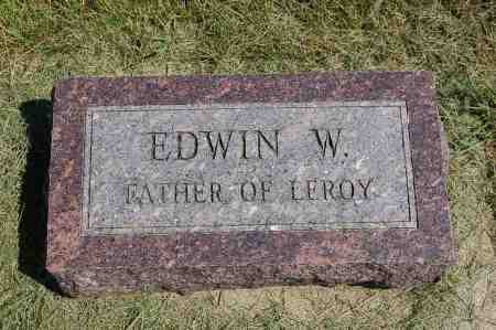 DONALDSON, EDWIN WILLIAM - Black Hawk County, Iowa   EDWIN WILLIAM DONALDSON