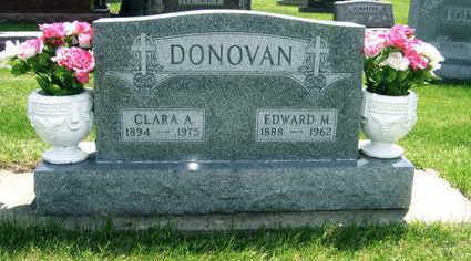 DONOVAN, CLARA A. - Black Hawk County, Iowa   CLARA A. DONOVAN