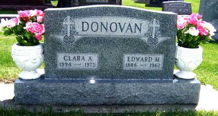 DONOVAN, EDWARD M. - Black Hawk County, Iowa   EDWARD M. DONOVAN