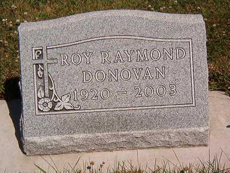 DONOVAN, ROY RAYMOND - Black Hawk County, Iowa | ROY RAYMOND DONOVAN