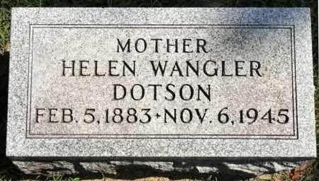 DOTSON, HELEN - Black Hawk County, Iowa | HELEN DOTSON