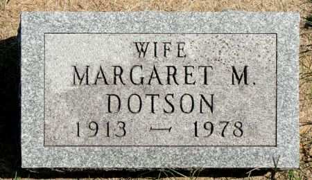 DOTSON, MARGARET M. - Black Hawk County, Iowa | MARGARET M. DOTSON