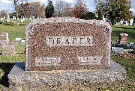 DRAPER, ROSE A. - Black Hawk County, Iowa | ROSE A. DRAPER