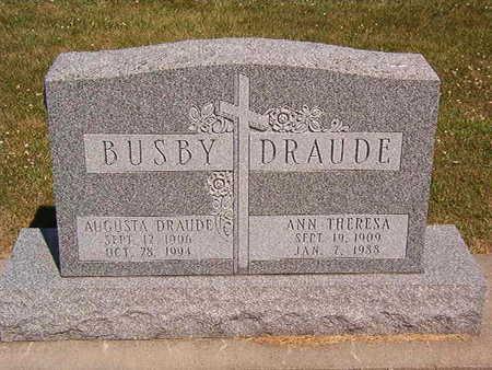 DRAUDE, ANN THERESA - Black Hawk County, Iowa | ANN THERESA DRAUDE
