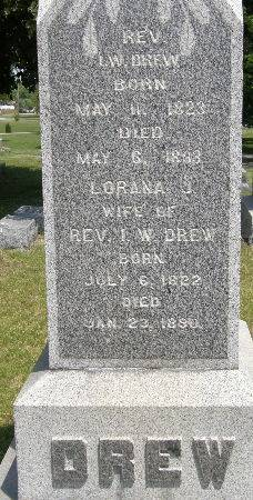 DREW, LORANA J. - Black Hawk County, Iowa | LORANA J. DREW