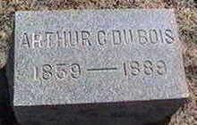 DUBOIS, ARTHUR G. OR C. - Black Hawk County, Iowa   ARTHUR G. OR C. DUBOIS
