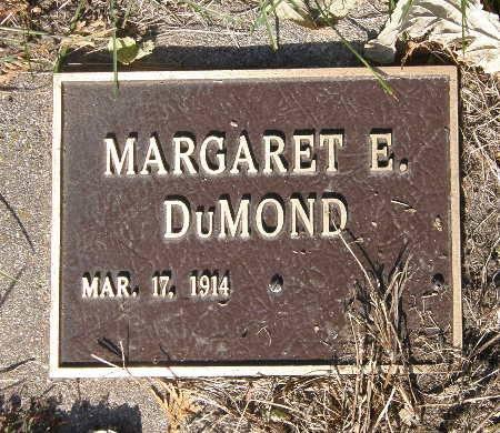 DUMOND, MARGARET E. - Black Hawk County, Iowa | MARGARET E. DUMOND