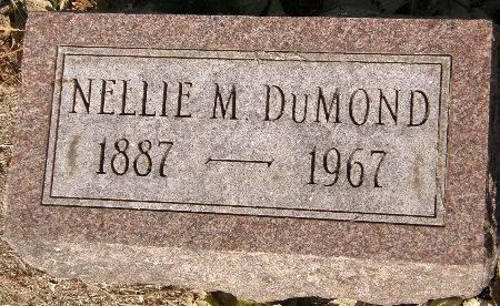 DUMOND, NELLIE M. - Black Hawk County, Iowa | NELLIE M. DUMOND