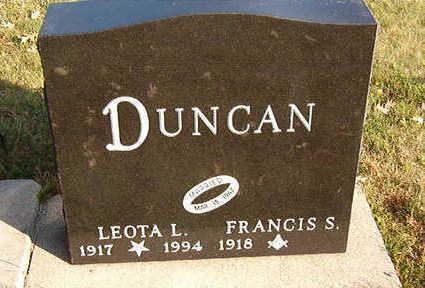 DUNCAN, LEOTA L. - Black Hawk County, Iowa | LEOTA L. DUNCAN