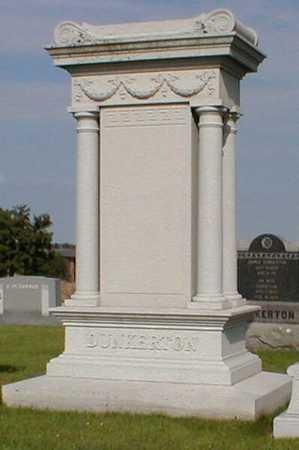 DUNKERTON, MONUMENT - Black Hawk County, Iowa | MONUMENT DUNKERTON