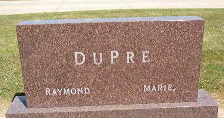 DUPRE, RAYMOND - Black Hawk County, Iowa   RAYMOND DUPRE